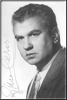 Gino Cervi : fotografia autografata